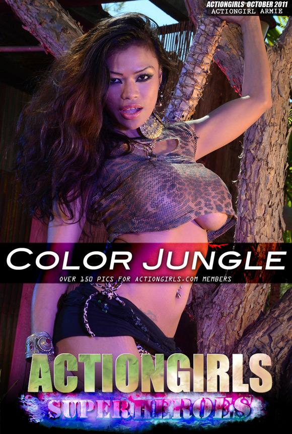 Jungle girl sex game