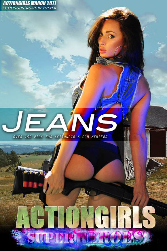 naked-action-girl-rosie-revolver-as-a-jeans-and-a-gun-babe
