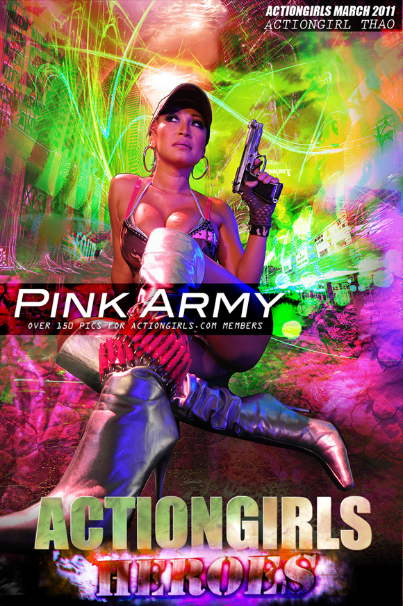 naked-action-girl-tao-as-a-pink-army-babe