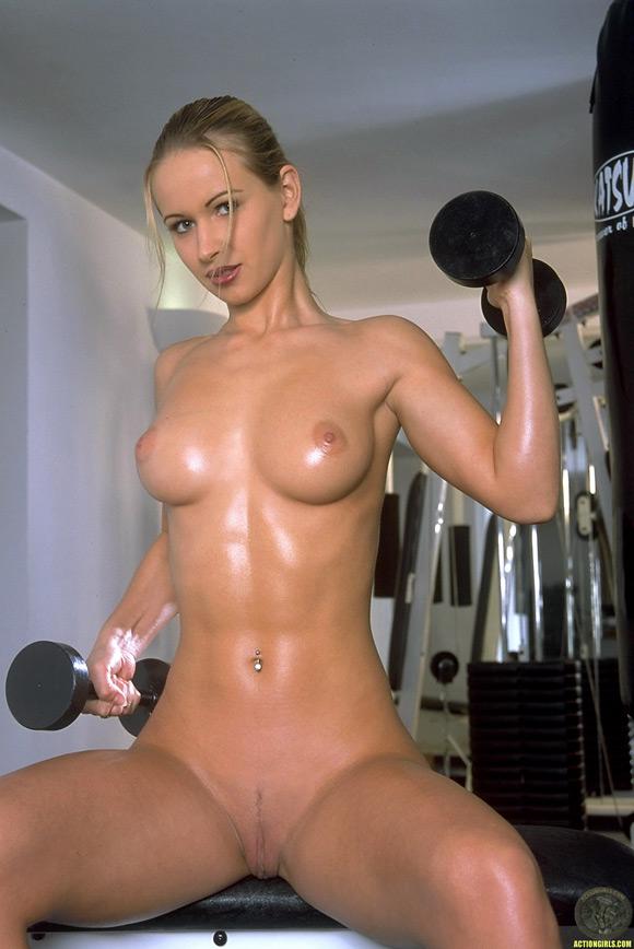 Girls Workout Naked