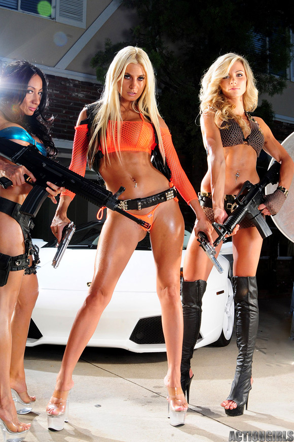 sexy girls in action № 418932
