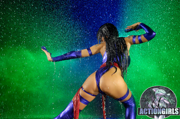 naked-action-girl-melodie-as-a-fighter-girl