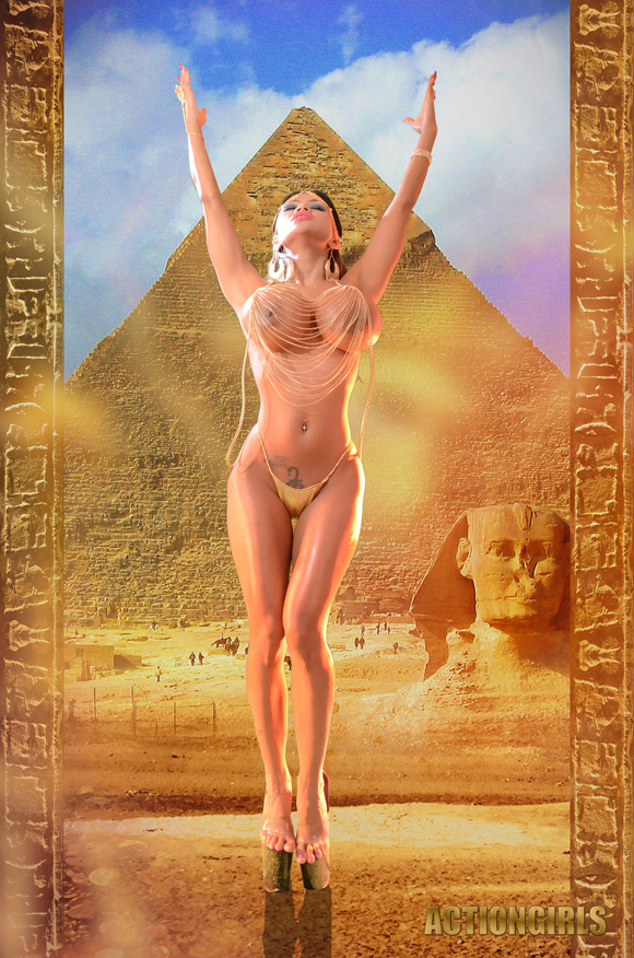 naked-action-girl-armie-field-as-an-egyptian-goddess